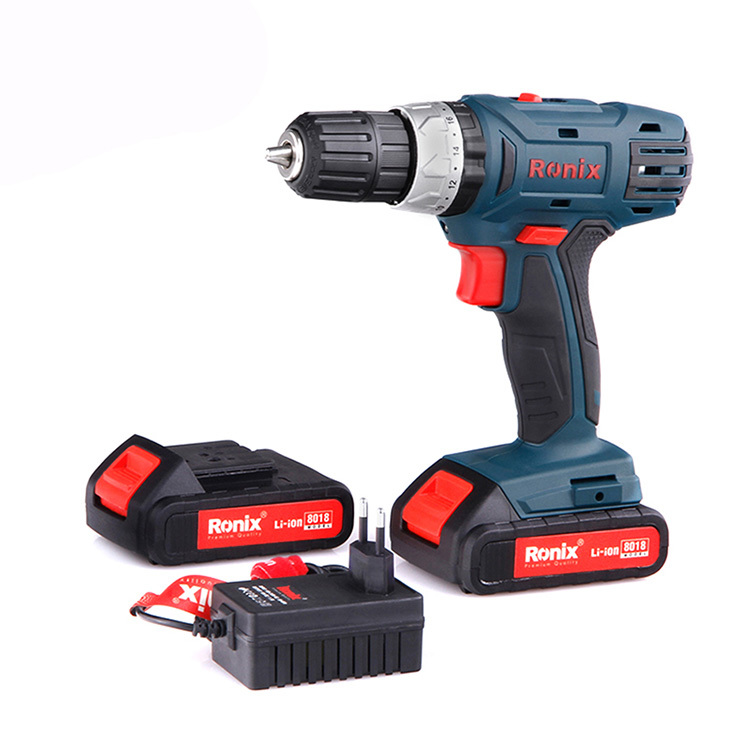 Power Cordless Screwdriver Drill 8018 ver Quality Cordless Drill 8018