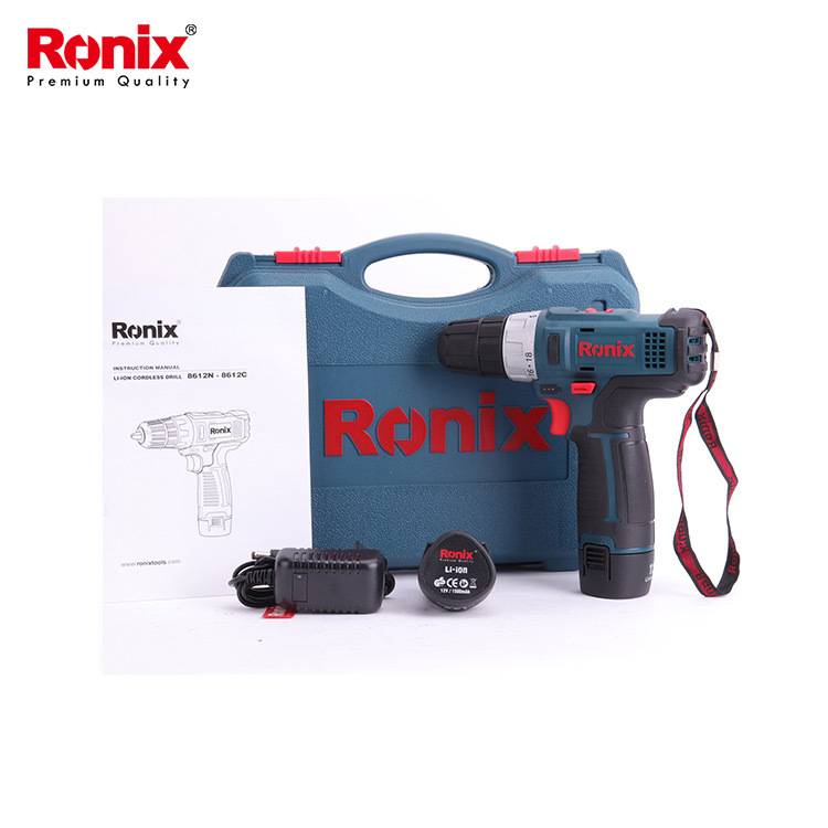 Best Rated Cordless Driver Electric Drill Suppliers | Ronix Tool