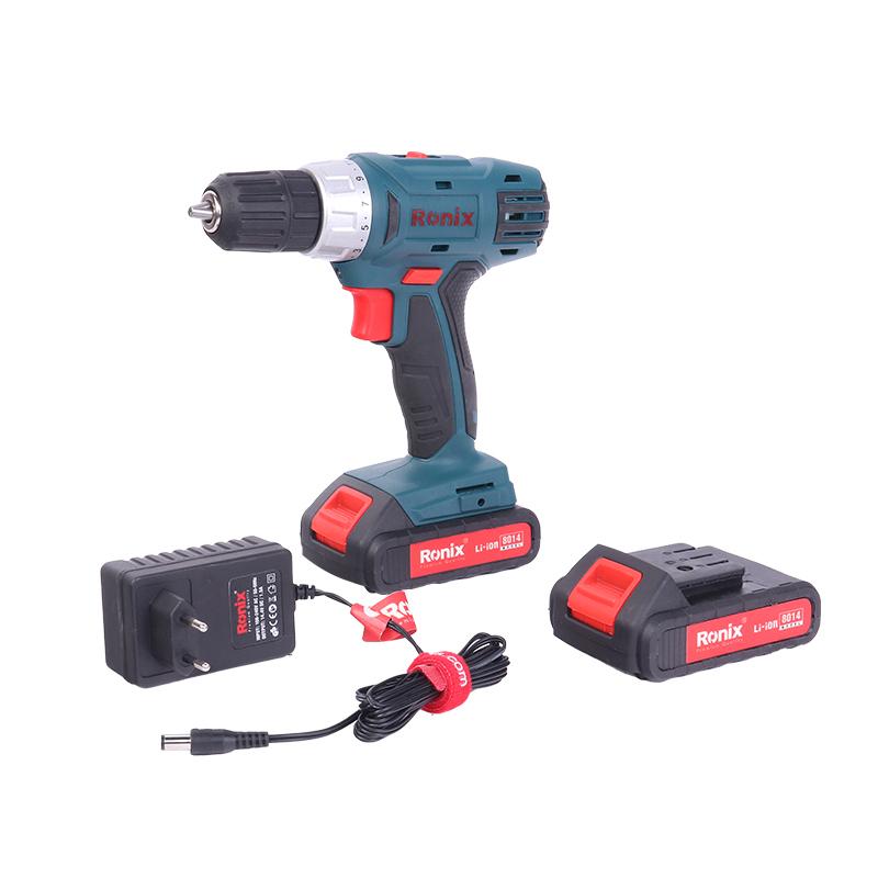 Best Portable Electric Drill Mini Wireless Power Drill 14.4V Model 8014