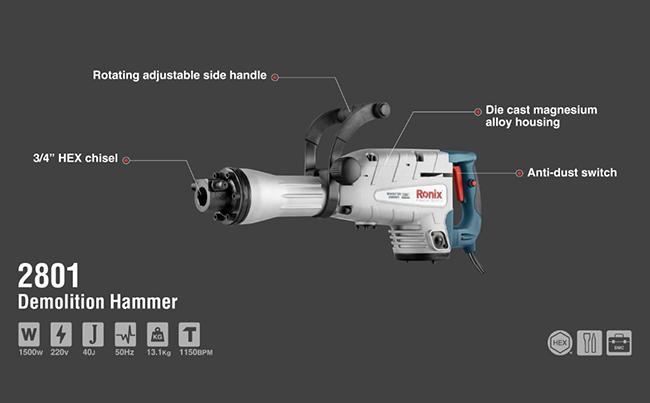 Demolition Hammer 2801