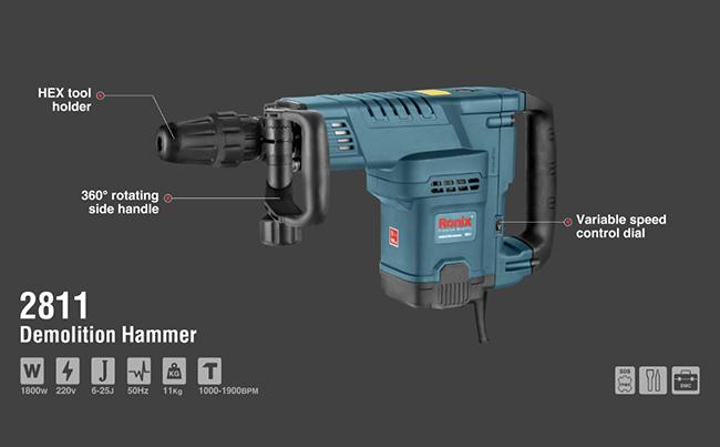 Demolition Hammer 2811