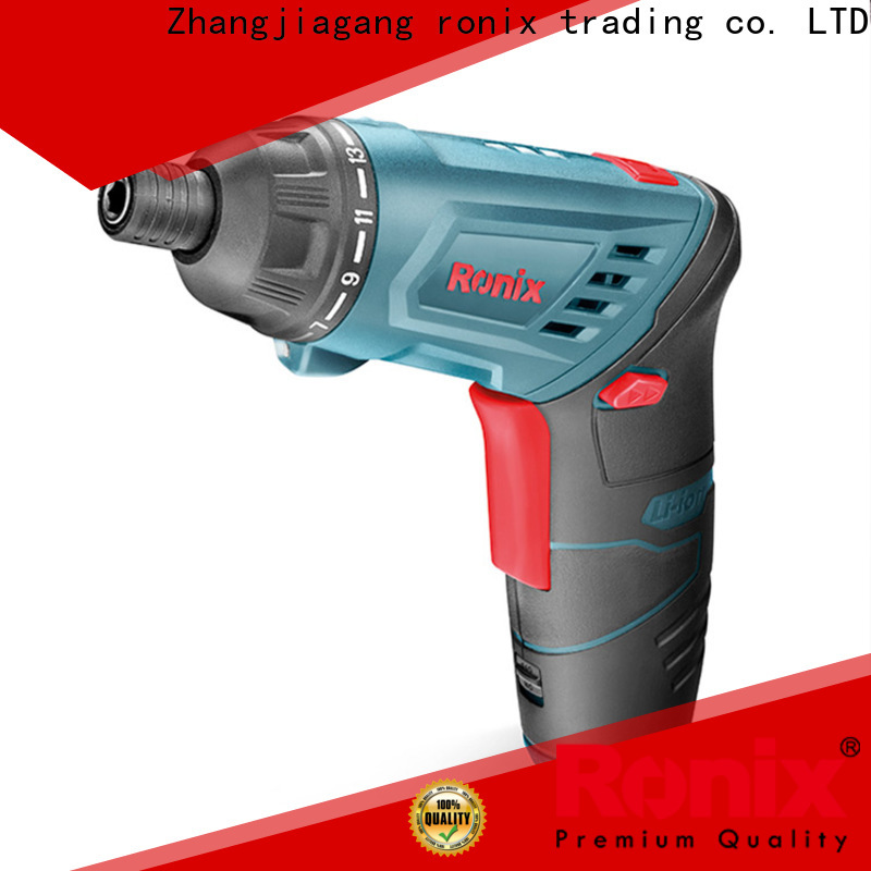 Ronix Tool drill quality cordless drill factory for cars