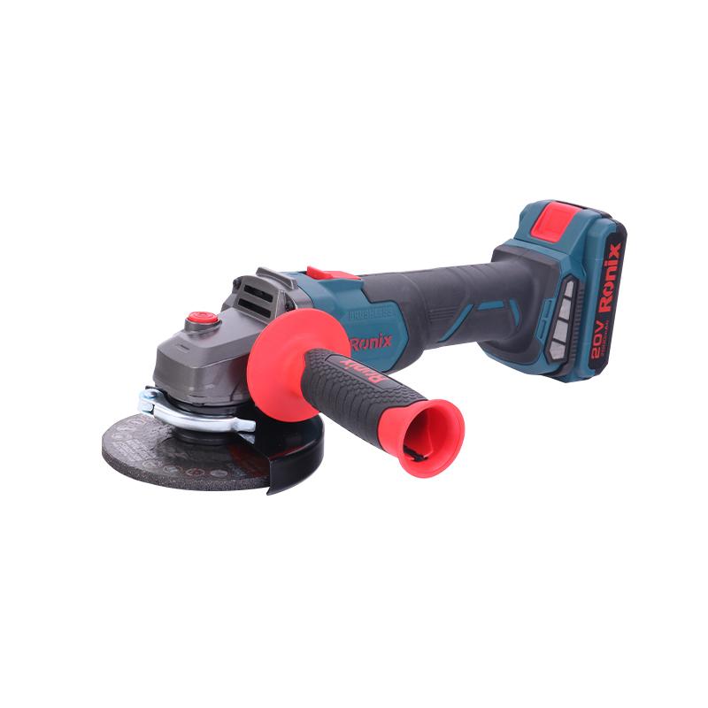 20V Brushless Cordless Angle Grinder Power Cordless Tools 8901