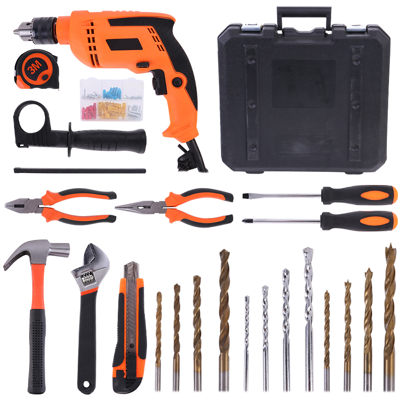 Quality Tool Sets Complete  Electric Power Drill Kit ROX010-1