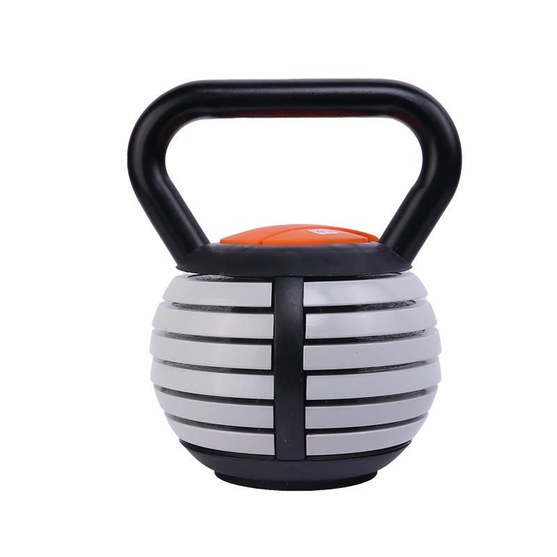 Ronix Adjustable Fitness Kettle bell ST1802 10/20KG Competition Cast Iron Sand Custom Handle Set Steel Kettlebell