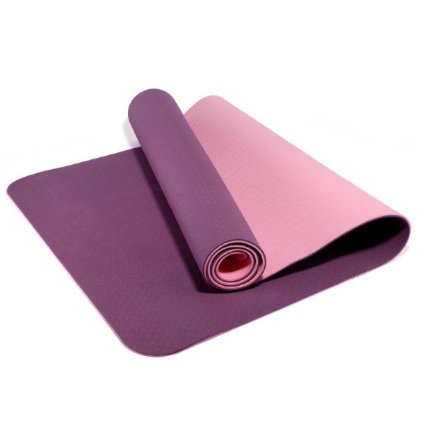 Sports Tools Yoga Mat Eco Friendly Pilates TPE Anti-slip YG5211