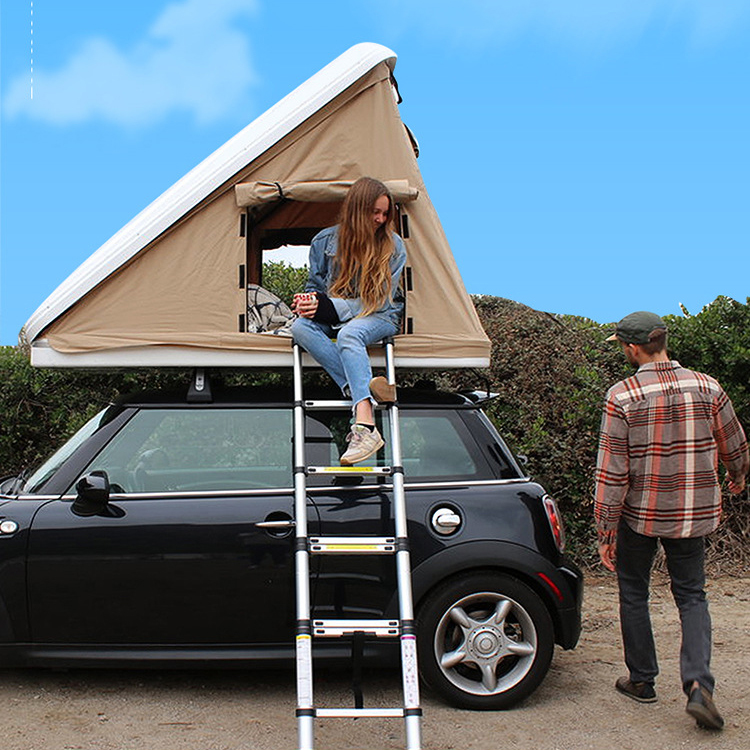 RONIX Triangle hard shell tents camping outdoor family travel roof top tent for car