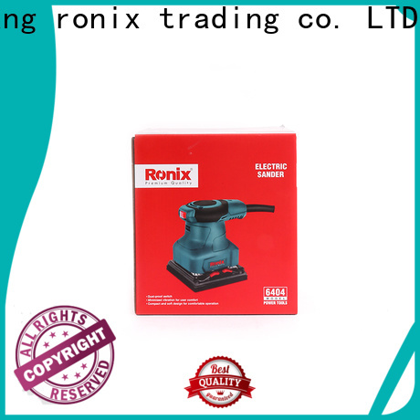 Ronix Tools wood palm sander battery company for toolstation