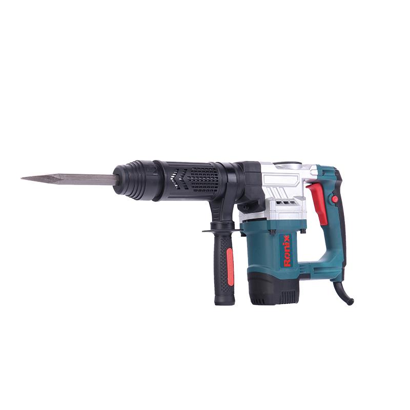 Ronix Free Accessories 17mm-1050W Cost-effective Demolition Power Hammer Drill Machine Model 2809