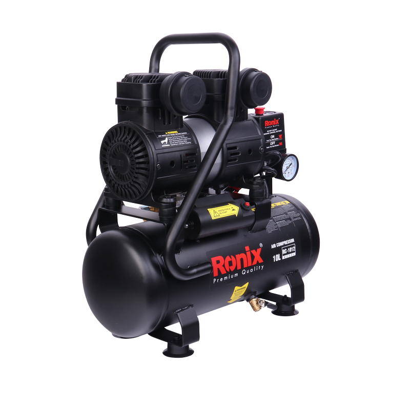 Ronix RC-1012 10L Cheap Price Low Noise Portable Inflator Electric Machine Air Compressor