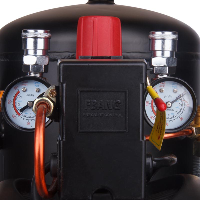 Model RC-2510 Ronix New 25 Liter Air Compressor 2Hp Compressor Air Conditioner