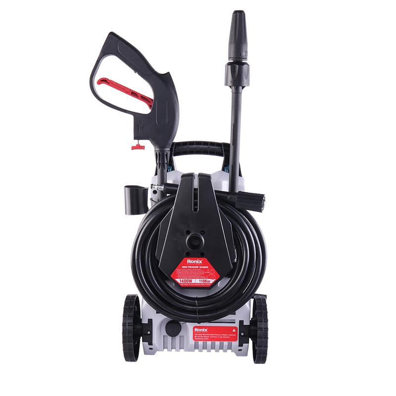 Ronix 110Bar High-Pressure Model RP-U111 Portable Carbon Brush Motor Mobile Carwash Cleaner Machine Car Washer